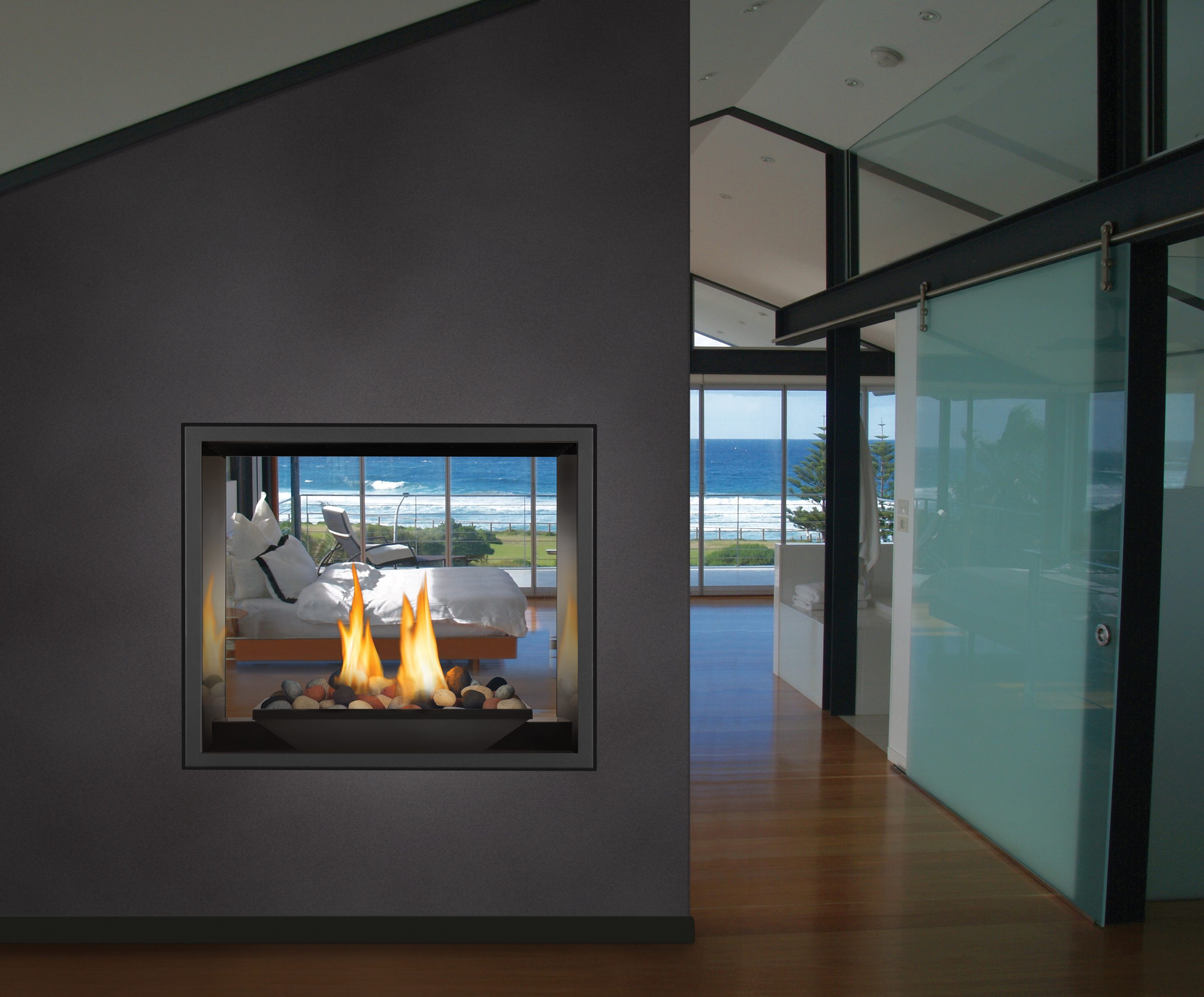 Linear Fireplaces by Napoleon
