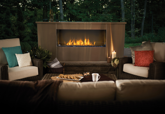 Galaxy Outdoor Fireplace by Napoleon
