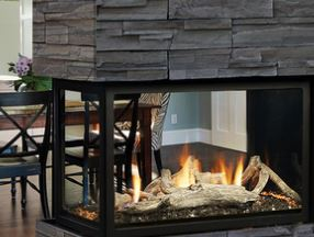 Kingsman Multi-Sided gas fireplace models