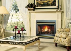 Kingsman Direct Vent gas fireplace models