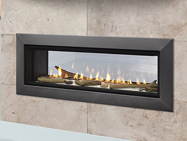 Linear & Contemporary Fireplaces by Majestic