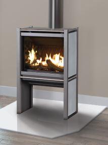 "Blaze King ""infinity flame"" gas stoves"
