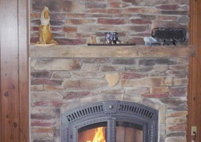 Job Photos: Wood Burning Fireplaces