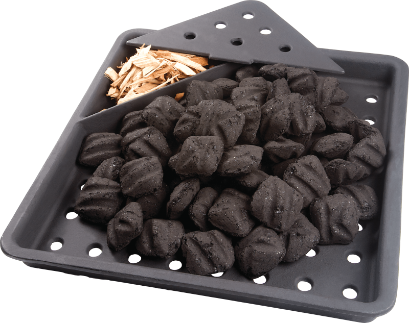 charcoal tray grilling accessory