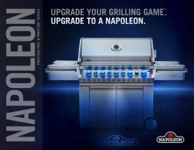 Napoleon upgrade your grill