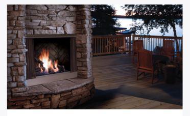 Kingsman Outdoor Fireplace