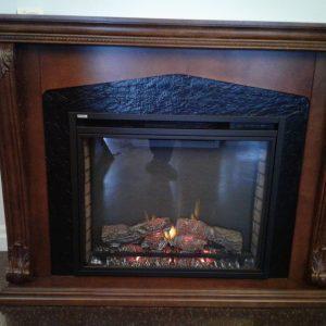 Munroe electric fireplace