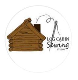Log Cabin Sewing Studio Logo